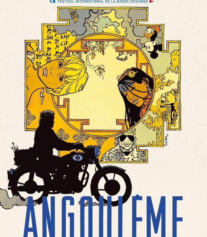 Ричард Корбин получи Гран при на фестивала на комиксите в Ангулем