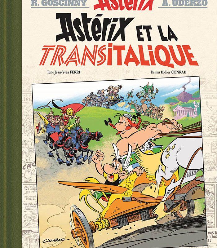 Жан-Ив Фери и Дидие Конрад и тяхното приключение с Астерикс и Обеликс