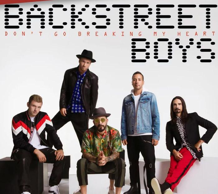 """Backstreet Boys се завръщат с нов сингъл – """"Don't Go Breaking My Heart"""""""