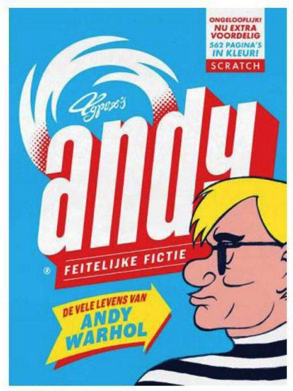 Животът на Анди Уорхол като комикс