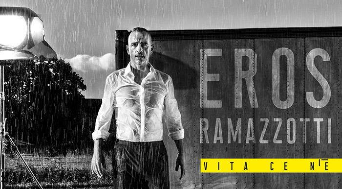 """Първи сингъл от предстоящия нов албум на Ерос Рамацоти """"Vita ce n'è"""""""
