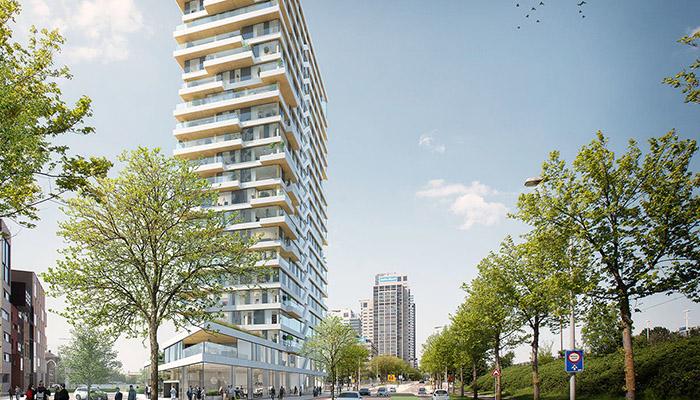 В Амстердам строят най-високата жилищна дървена сграда в света