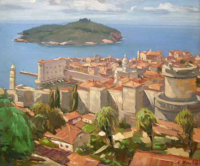 120 картини за 120-годишнината от рождението на Марио Жеков