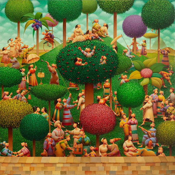 В малката Райска градина с Николай Стоев