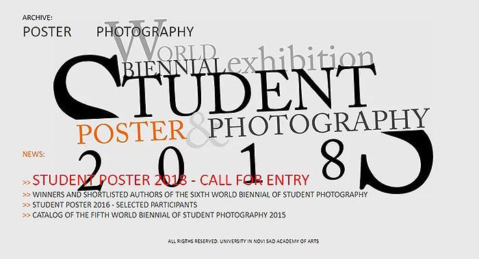 Осмо биенале на студентския плакат Нови Сад 2018
