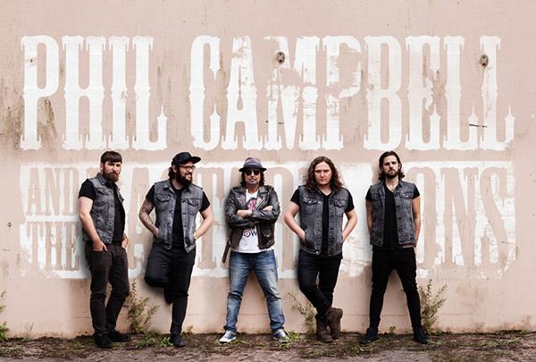 Китаристът на Motörhead Фил Кембъл идва с групата си в България