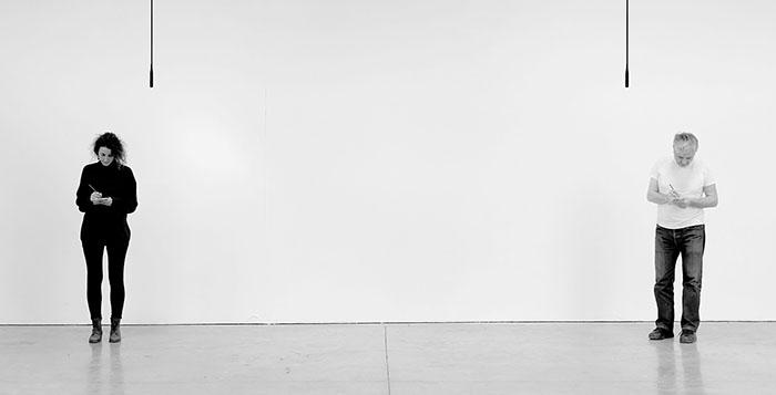 """""""Писано (не)казано"""" – изложба на Боряна Петкова и Андре Сер-Милан"""