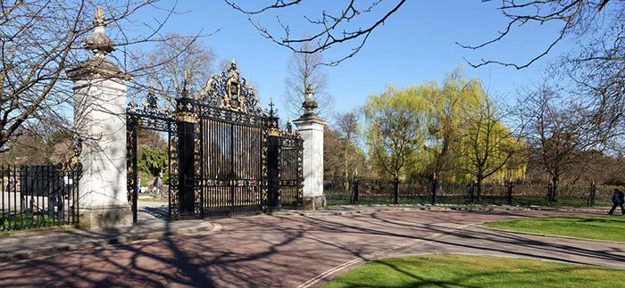 Скулптура на открито в лондонския Реджънтс парк
