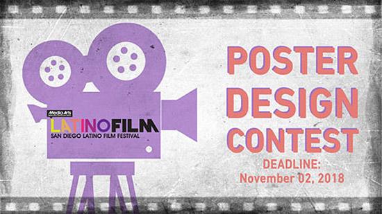 Конкурс за плакат на фестивала на латиноамериканското кино, Сан Диего 2019