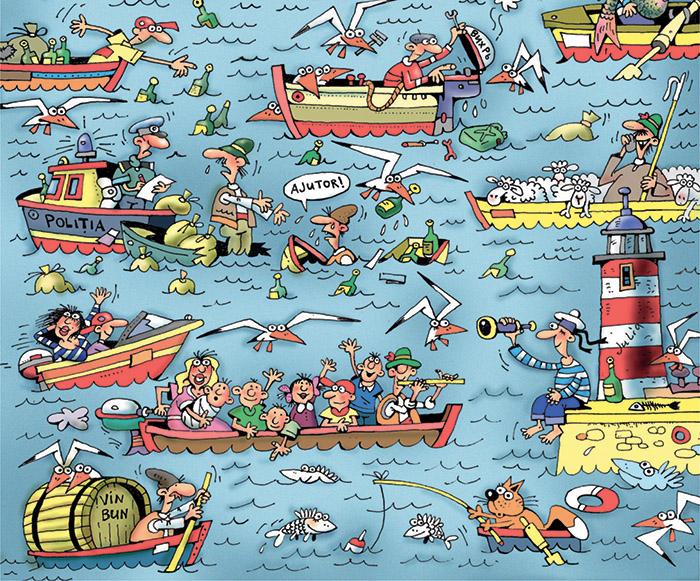 Карикатури на автори от Дунавския регион в Дома на хумора и сатирата