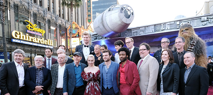 "Гала премиера на ""Соло: История от Междузвездни войни"""